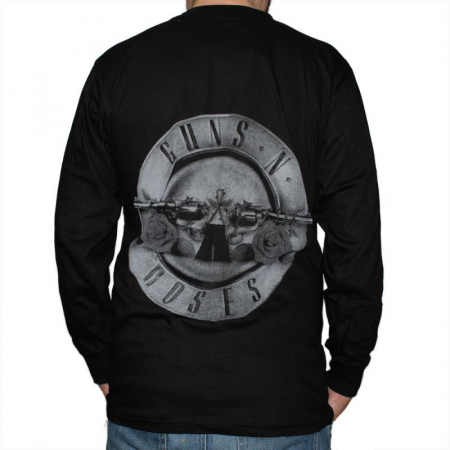 Long Sleeve Guns N Roses - Logo Band1