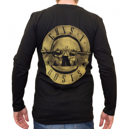 Long Sleeve Guns N Roses - New Logo1