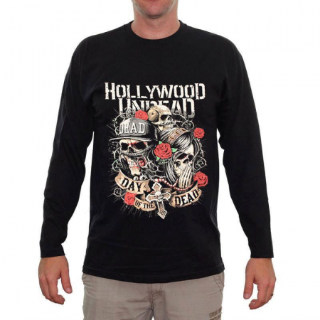 Long Sleeve Hollywood Undead - Day of the Dead0