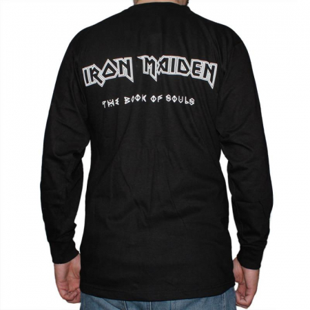Long Sleeve Iron Maiden - The Book of Souls1