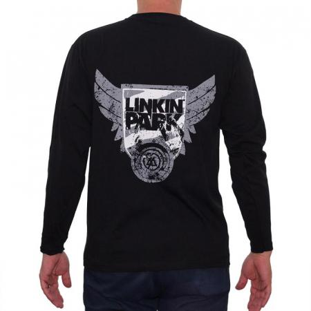 Long Sleeve Linkin Park - White Logo1