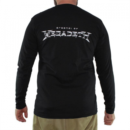 Long Sleeve Megadeth - Arsenal1