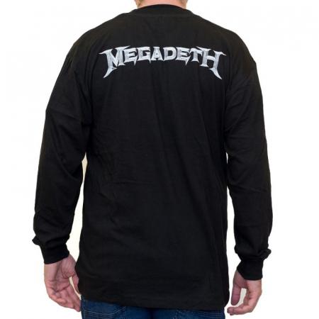 Long Sleeve Megadeth - Rattlehead1