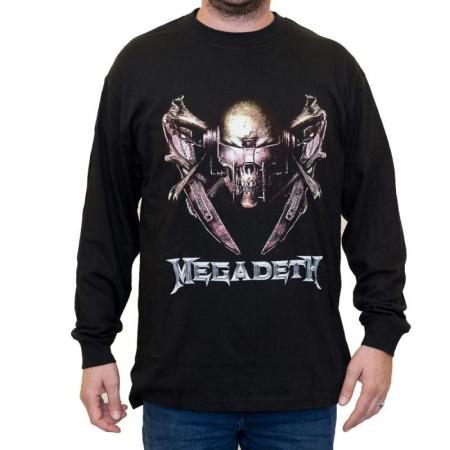 Long Sleeve Megadeth - Rattlehead0