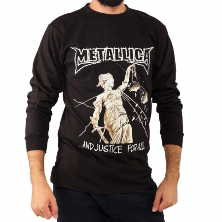 Long Sleeve Metallica - And Justice For All0