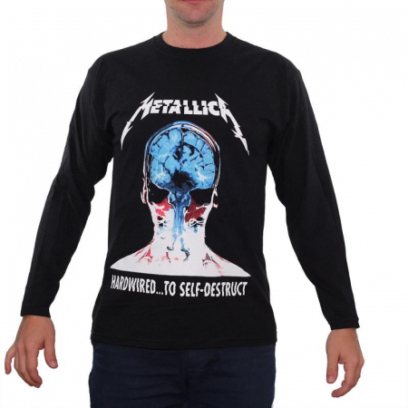 Long Sleeve Metallica - Hardwired...0