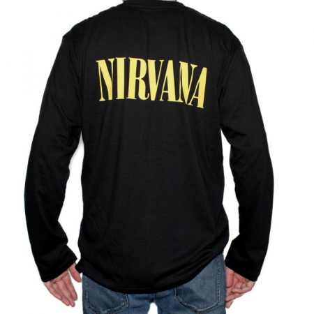 Long Sleeve Nirvana - Smiley [1]
