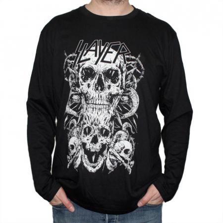 Long Sleeve Slayer - Skull & Bones0