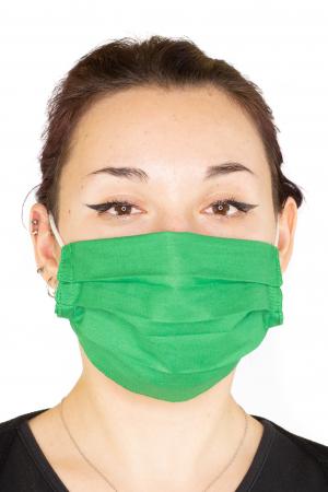 Masca Simpla Colorata - Verde Inchis0