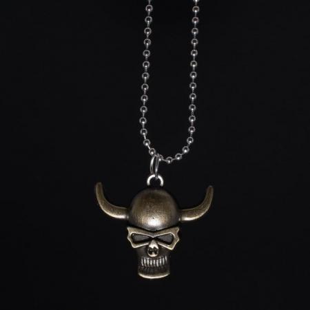 Medalion Stainless Steel - Bronze Skull [0]