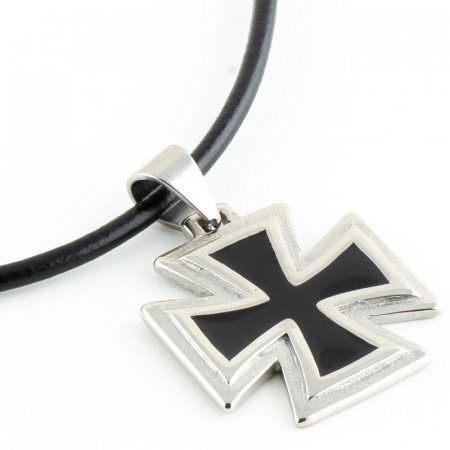 Medalion Stainless Steel - Iron Cross 2 cu snur2