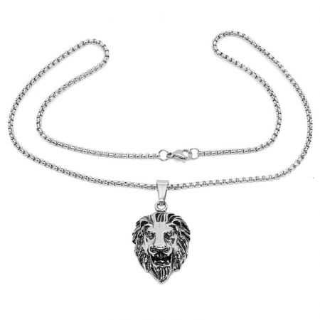 Medalion Stainless Steel - Lion1