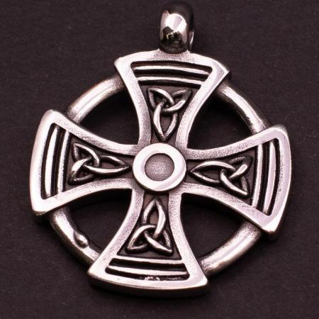 Medalion Stainless Steel - Maltese Cross cu Snur [1]