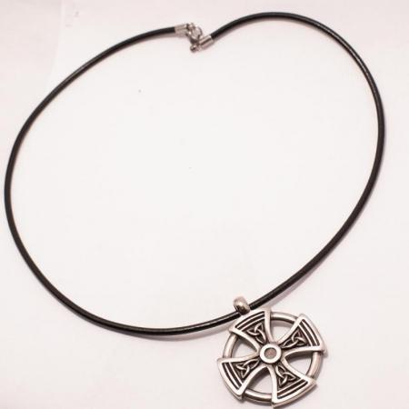 Medalion Stainless Steel - Maltese Cross cu Snur [0]