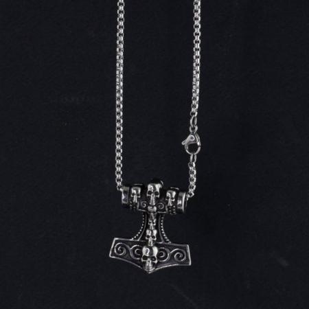 Medalion Stainless Steel - MJOLNIR1