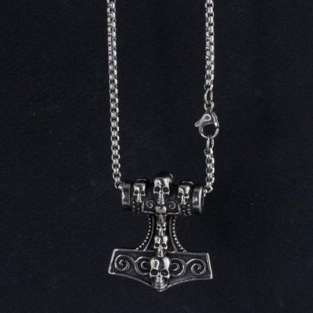 Medalion Stainless Steel - MJOLNIR2