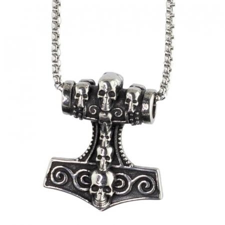 Medalion Stainless Steel - MJOLNIR0