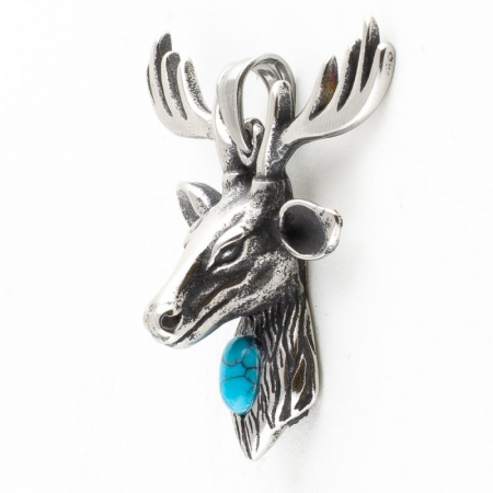 Medalion Stainless Steel - Stag1