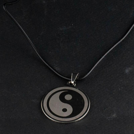 Medalion Stainless - Ying Yang Mare [1]