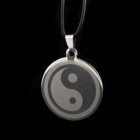 Medalion Stainless - Ying Yang Mare0