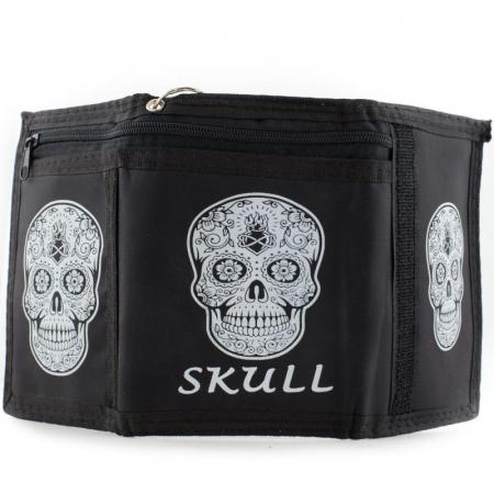 Portmoneu - Tattoo Skull2