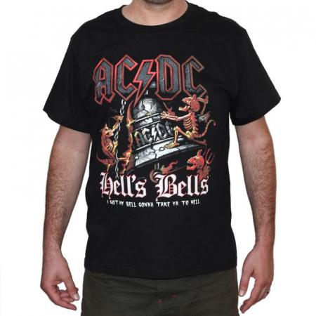 Tricou AC DC - Hell s Bells - 180 grame0