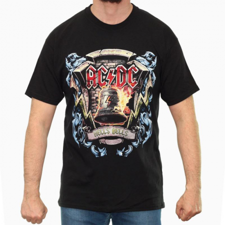 Tricou AC/DC - Hells Bells 2 - Fruit Of The Loom [0]