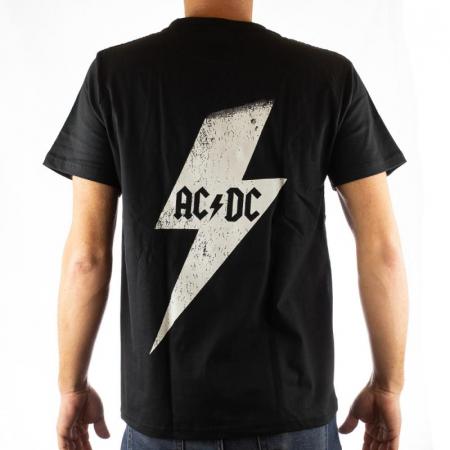 Tricou AC DC - White Thunder marime - 180 grame1
