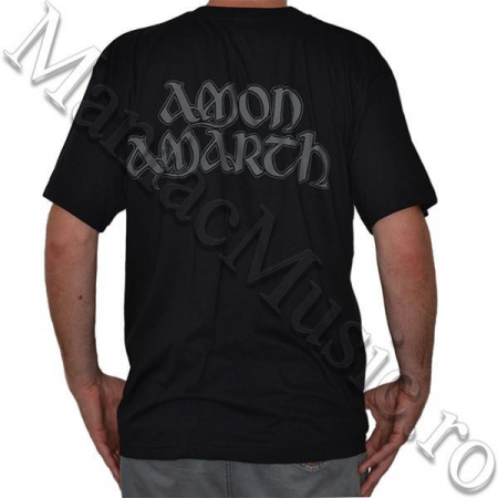 Tricou Amon Amarth - Skull and Axes - 180 grame1