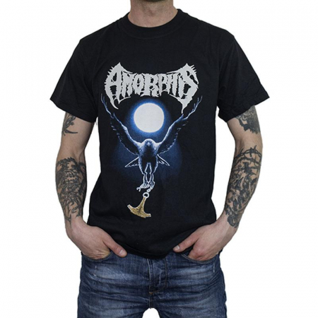 Tricou Amorphis - Black Winter Day - 180 grame0