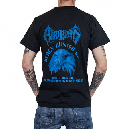 Tricou Amorphis - Black Winter Day - 180 grame1