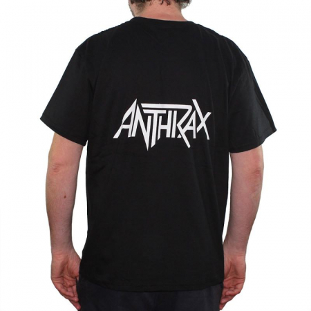 Tricou Anthrax- Soldiers Of Metal - 180 grame1