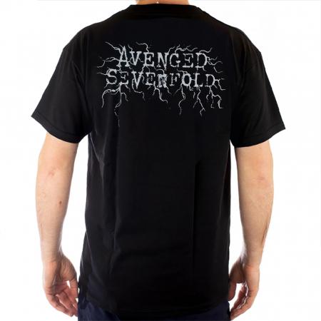 Tricou Avenged Sevenfold - Bat Head - Fruit Of The Loom [1]