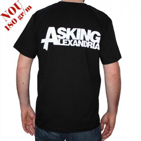 Tricou Asking Alexandria - Skull - 180 grame1