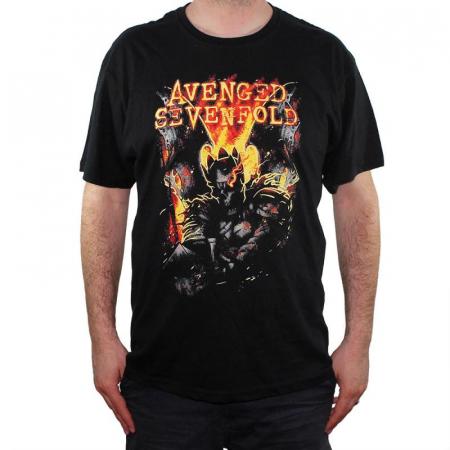 Tricou Avenged Sevenfold - Shepherd Of Fire - 145 grame0