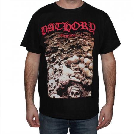 Tricou Bathory - Requiem - 180 grame [0]