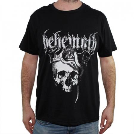 Tricou Behemoth - Skull - 180 grame0