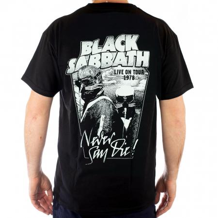Tricou Black Sabbath - Never say Die - Fruit of the Loom [1]