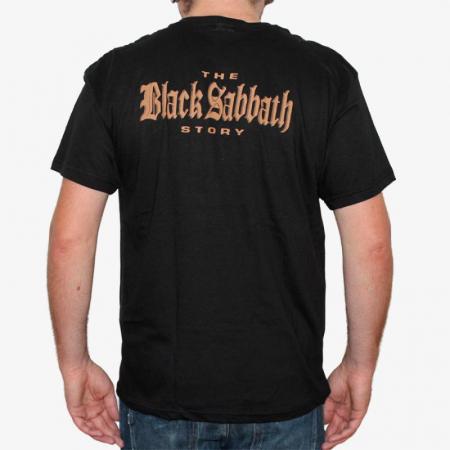 Tricou Black Sabbath - The Story - 145 grame1
