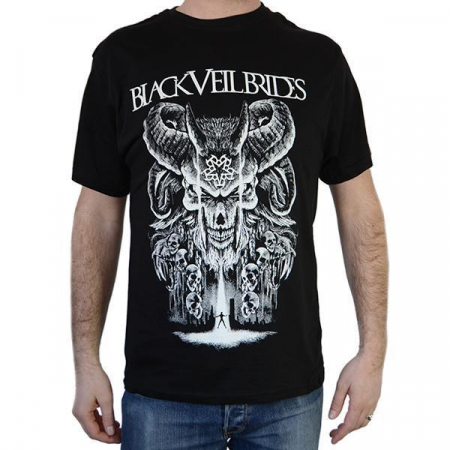 Tricou Black Veil Brides - Baphomet - 180 grame0