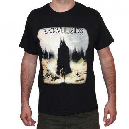 Tricou Black Veil Brides -Wretched and Divine - 145 grame [0]