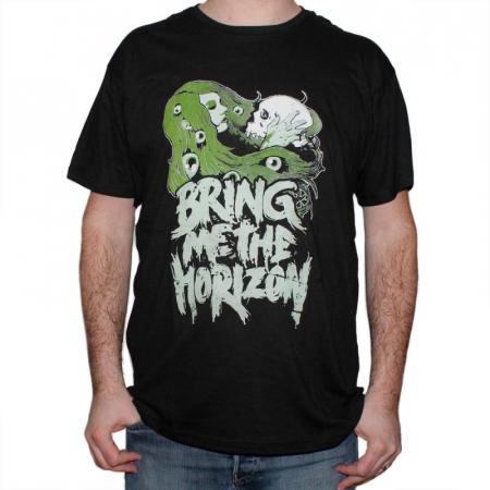 Tricou Bring Me The Horizon - Green Lady - 145 grame0