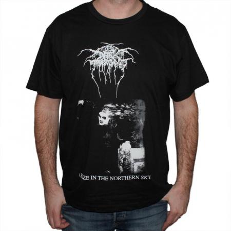 Tricou Darkthrone - A Blaze In The Northern Sky - 180 grame0