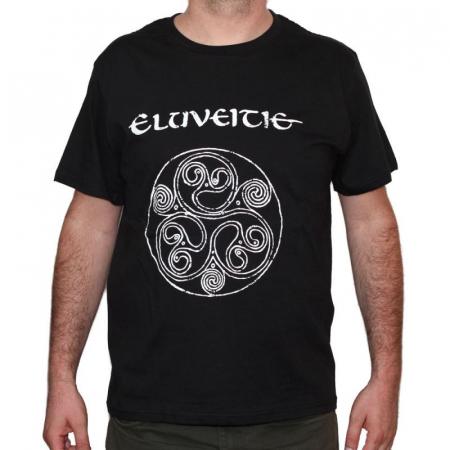 Tricou Eluveitie - LOGO - 180 grame0