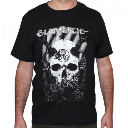 Tricou Eluveitie - Skull - 180 grame0