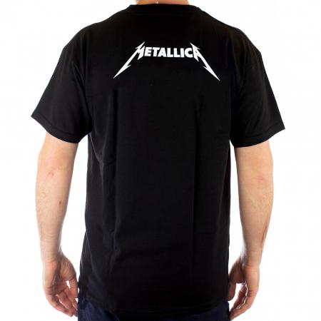 Tricou Metallica - 7 skulls - 180 grame1