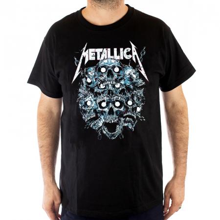 Tricou Metallica - 7 skulls - 180 grame0