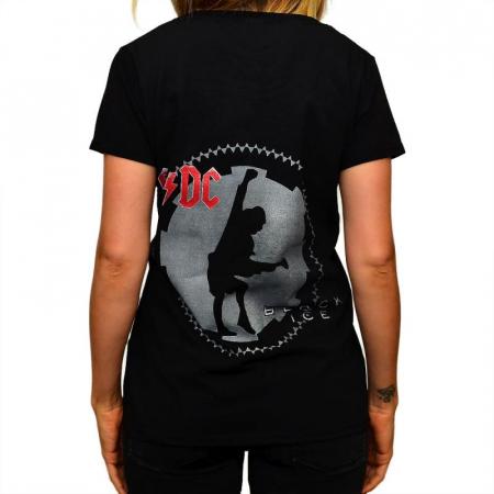 Tricou Femei AC DC - Black Ice [1]