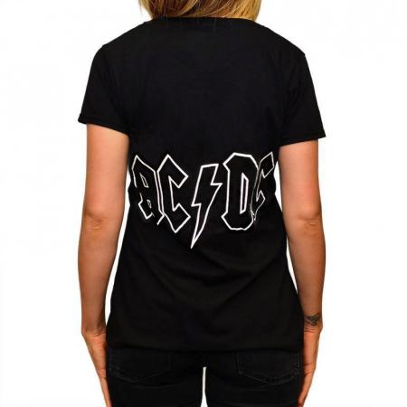 Tricou Femei AC/DC - LOGO1