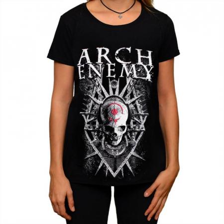 Tricou Femei Arch Enemy - Skull0